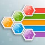 Abstract 3D Document Infographics Bedrijfs malplaatje Vector illustratie vector illustratie