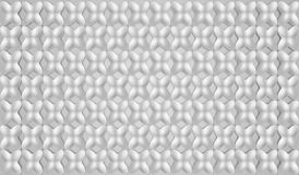 Abstract 3d geometric background. White seamless texture with shadow. Simple clean white background texture. 3D Vector interior  Stock Photos