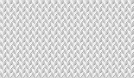 Abstract 3d geometric background. White seamless texture with shadow. Simple clean white background texture. 3D Vector interior  Stock Photography