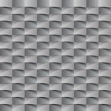 Abstract 3d geometric background. White seamless texture with shadow. Simple clean white background texture. 3D Vector interior wa Stock Images