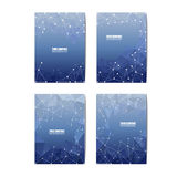 Abstract 3D geometric Blue background. Abstract 3D geometric colorful background. Banner,Brochure,card,greeting,website/5*7 inch Ready for use Royalty Free Stock Image