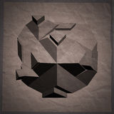 Abstract 3D geometric illustration. Royalty Free Stock Photos
