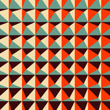 Abstract 3d geometric pattern. Polygonal Royalty Free Stock Photo