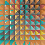 Abstract 3d geometric pattern. Polygonal Royalty Free Stock Photography