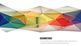 Abstract 3D Geometric, Polygonal, Triangle pattern. Vector illustration Abstract 3D Geometric, Polygonal, Triangle pattern shape and multicolored,blue, purple vector illustration