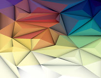 Abstract 3D Geometric, Polygonal, Triangle pattern. Vector illustration Abstract 3D Geometric, Polygonal, Triangle pattern shape and multicolored,blue, purple Royalty Free Stock Photography