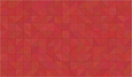 Abstract 2D geometric red background Royalty Free Stock Photos