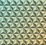 Abstract 3D geometric texture. Vector gradient pattern of triang Royalty Free Stock Photos