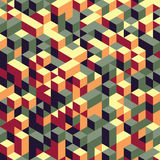 Abstract 3d geometrical background. Mosaic. Vector Stock Photography