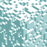 Abstract 3d geometrical background. Mosaic. Vector. Illustration. Can be used for wallpaper, web page background, book cover royalty free illustration
