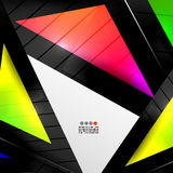 Abstract 3D Geometrical Design Stock Photography