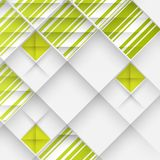 Abstract 3D Geometrical Design Stock Image