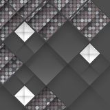 Abstract 3D Geometrical Design. Vector Illustration. Eps 10 Royalty Free Stock Images