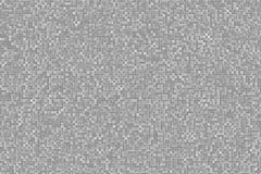 Abstract 3d Geometrisch Klein Kubus Achtergrondontwerppatroon in Omgekeerde Zwart-wit of Grijs Royalty-vrije Stock Foto's