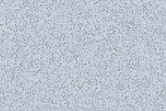 Abstract 3d Geometrisch Klein Kubus Achtergrondontwerppatroon in Zwart-wit of Grijs Stock Afbeeldingen