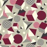 Abstract 3d geometrisch naadloos patroon Stock Fotografie
