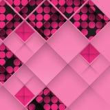 Abstract 3D Geometrisch Ontwerp Stock Foto's