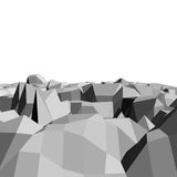 Abstract 3D geometry Stock Image