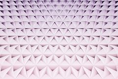 Abstract background of polygonal shape. Abstract 3D graphic geometrical background of triangles stock illustration