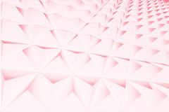 Abstract background of polygonal shape. Abstract 3D graphic geometrical background of triangles royalty free illustration
