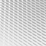 Abstract 3D grey blocks reflective geometry Royalty Free Stock Image