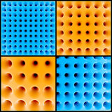Abstract 3d honeycomb structure Stock Photo