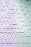 Abstract 3d illustration architectural pattern Royalty Free Stock Photo