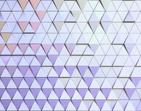 Abstract 3d illustration architectural pattern. Abstract 3d illustration acrchitectural texture of triangles Royalty Free Stock Images