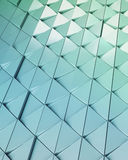 Abstract 3d illustration architectural pattern. Abstract 3d illustration acrchitectural texture of triangles Royalty Free Stock Photos