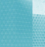 Abstract 3d illustration architectural pattern Stock Photography