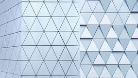 Abstract 3d illustration architectural pattern Royalty Free Stock Image
