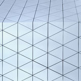 Abstract 3d illustration architectural pattern. Abstract architectural 3d illustration of blue triangles Vector Illustration