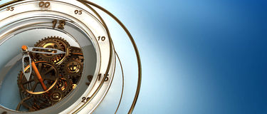 Clockworks background Royalty Free Stock Photography