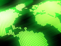 Green map background Royalty Free Stock Photo