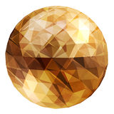 Abstract 3D illustration. Dsco ball. Stock Images