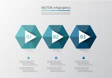 Abstract 3D Infographic-malplaatje Royalty-vrije Stock Fotografie