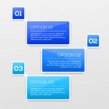Abstract 3D Infographics. Vector illusatration for your design Royalty Free Stock Photography