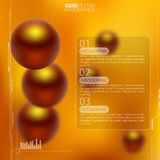 Abstract 3D  Infographics Stock Photography