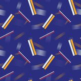 Abstract 3d lines geometric seamless pattern. Business geometry series Vector Illustration