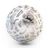 Abstract 3D mesh structure. Abstract metal 3D mesh structure Royalty Free Stock Images