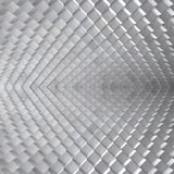 Abstract 3D Metal Backdrop Royalty Free Stock Image