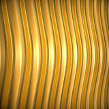 Abstract 3d metallic background. Abstract 3d metallic wavy background. 3d render Royalty Free Stock Image