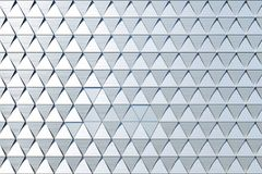 Abstract background of polygonal shape. Abstract 3D minimalistic geometrical background of triangles Stock Photography