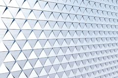 Abstract background of polygonal shape. Abstract 3D minimalistic geometrical background of triangles Royalty Free Stock Image
