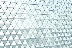 Abstract background of polygonal shape. Abstract 3D minimalistic geometrical background of triangles Royalty Free Stock Photo