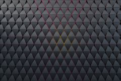 Abstract background of polygonal shape. Abstract 3D minimalistic geometrical background of triangles royalty free illustration