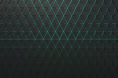Abstract background of polygonal shape. Abstract 3D minimalistic geometrical background of triangles Stock Photo