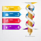 Abstract 3D Modern template vector  banner infographics.Business Stock Images