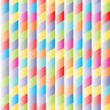 Abstract 3D naadloos patroon als achtergrond met rombo?den vector illustratie