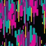 Abstract 3d naadloos patroon met kleurrijke document geometrische vormen vector illustratie